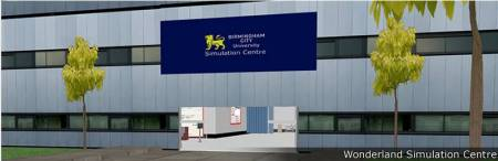 Birmingham City University Wonderland Simulation Center