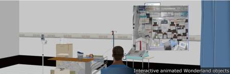 Birmingham City University - example of interactive animated objects