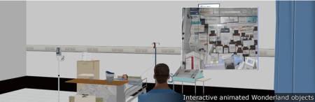 Birmingham City University - example of interactive animated objects