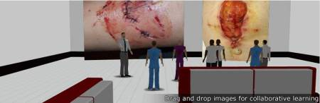Birmingham City University - drag and drop images for collaborative learning
