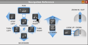 Navigation Reference Window