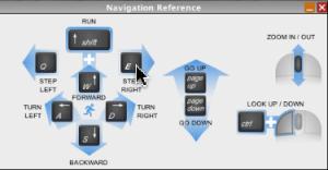 Navigation Reference Window