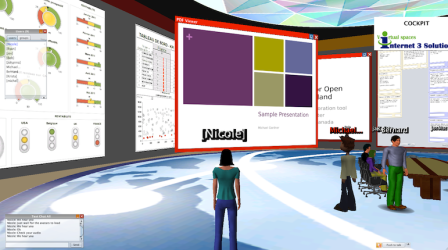 Example of a PowerPoint presentation appearing in world as a PDF