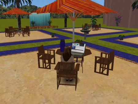 STCC Virtual Campus - patio