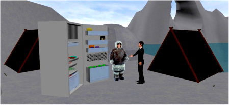 Selling a fridge to an Inuit