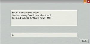 Chatbot window
