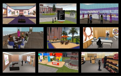 Collage of STCC virtual campus